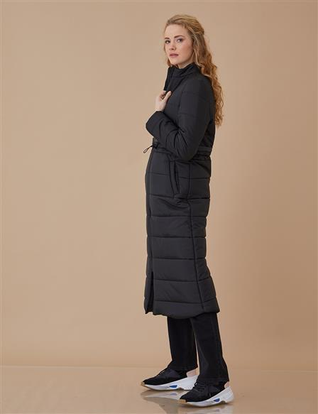 Anorak Coat Black A8 27034