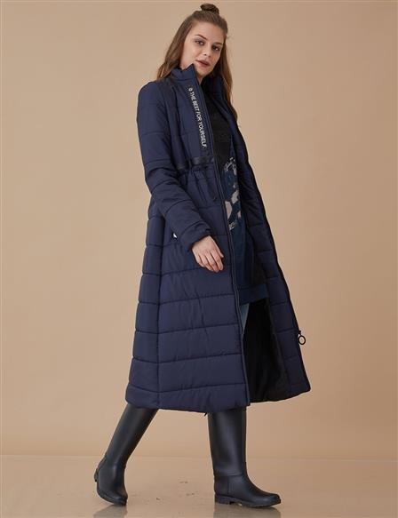 Anorak Coat Navy A8 27034