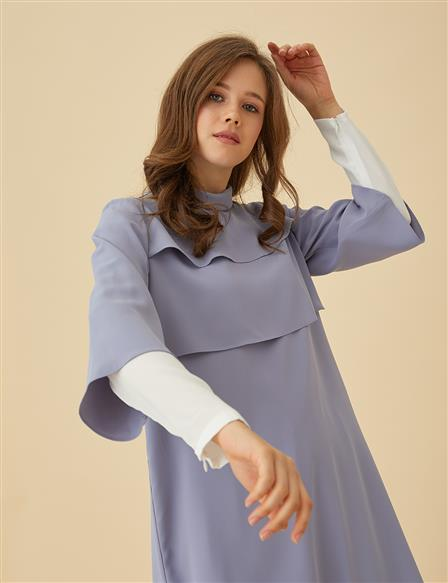 Detailed Suit B9-16012 Lilac