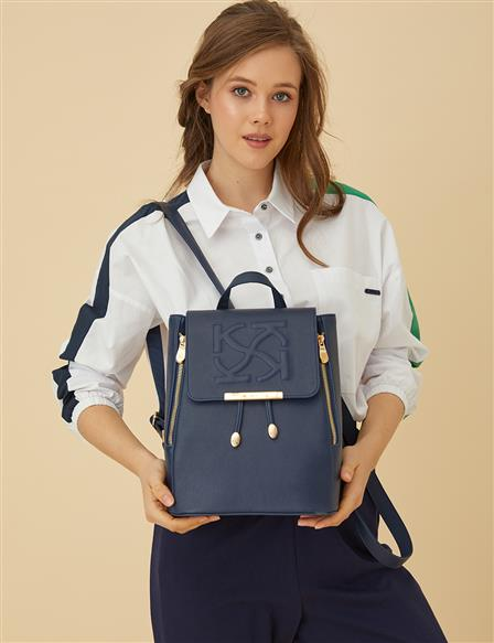 Anaglyphic Backpack B9 CNT01 Navy