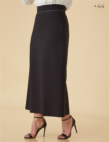 Pencil Skirt B9-12034 Black