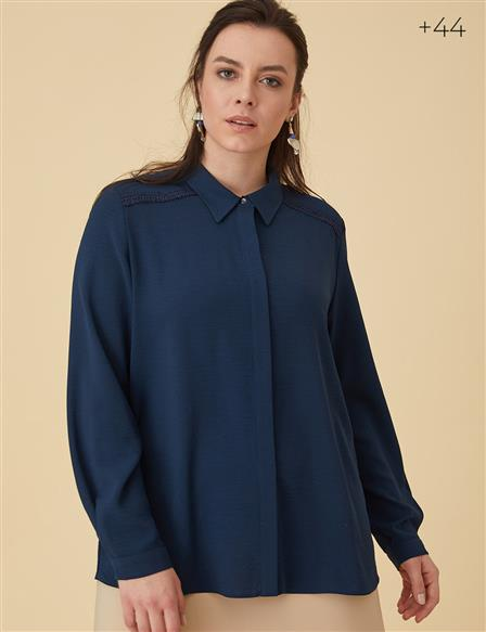 Basic Shirt B9-10080 Navy
