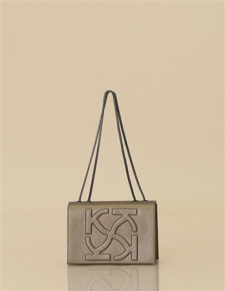 Anaglyphic Tote Bag B9 CNT03 Gold