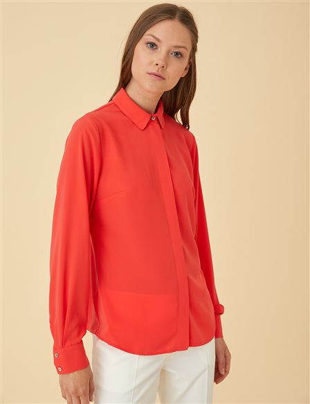 Basic Shirt SZ-11500 Red