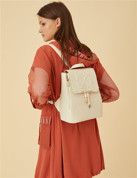 Anaglyphic Backpack B9 CNT01 Beige