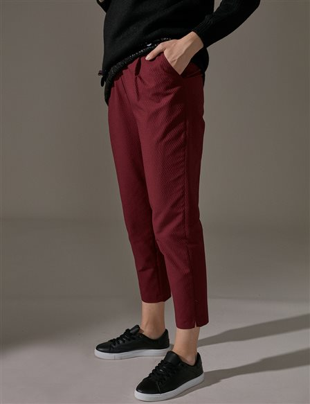 KYR Carrot Pants A9 79016 Burgundy