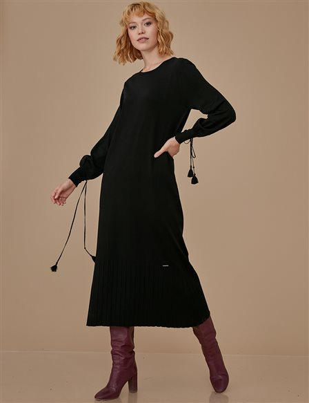 Knitwear Dress A9 TRK18 Black