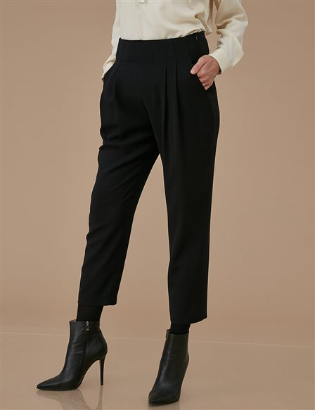 Pleated Pants A9 19052 Black