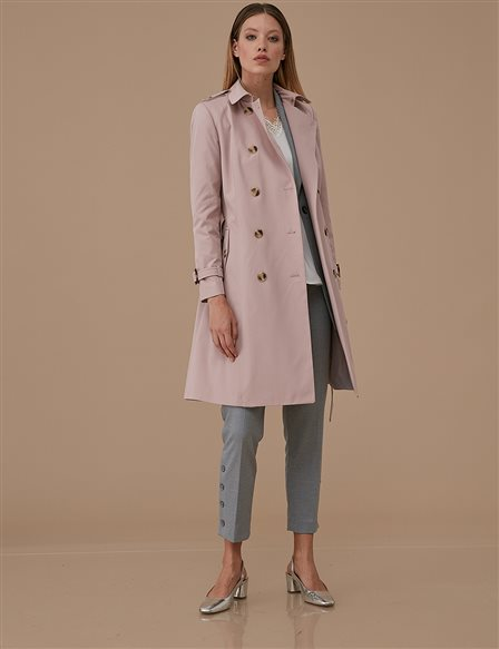 Classic Trenchcoat A9 14040 Powder