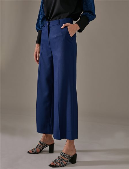 KYR Wide Leg Pants A9 79011 Saxe