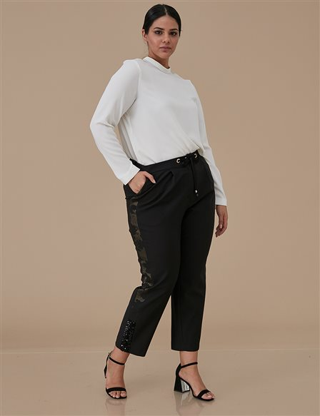 Strappy Pants A9 19045 Black