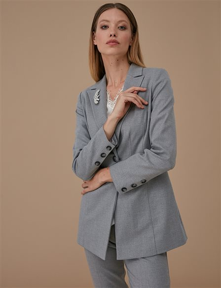 Blazer Jacket A9 13079 Grey