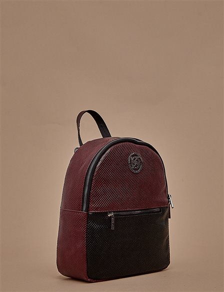 Color Block Backpack A9 CNT02