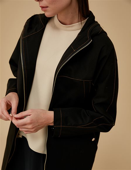 Hoody Jacket A9 14079 Black