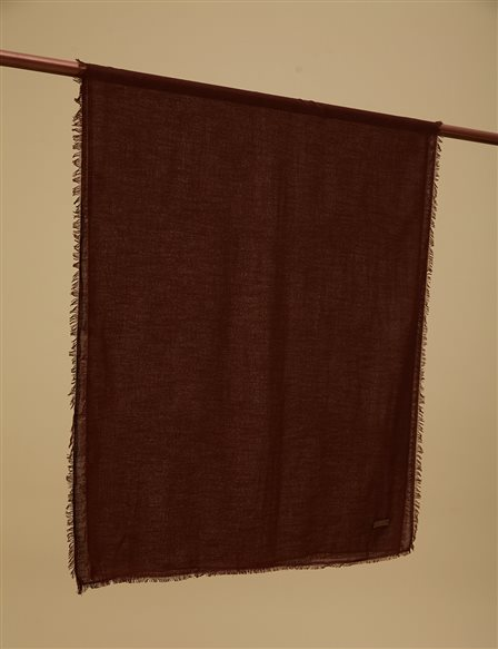Solid Color Shawl A9 SAL31 Burgundy