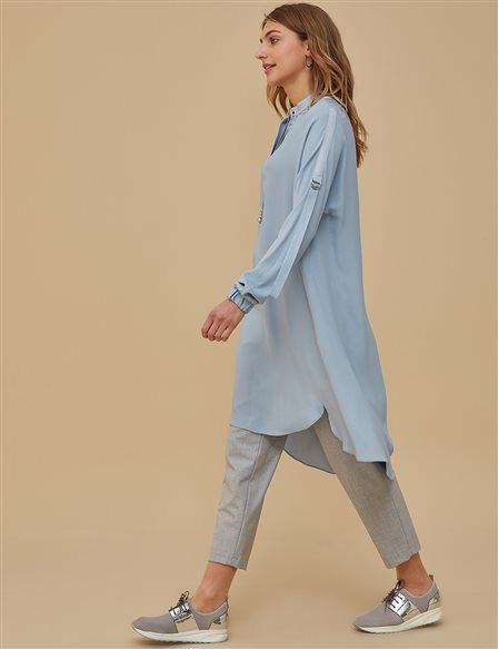 Oversize Tunic Blue A9 21187