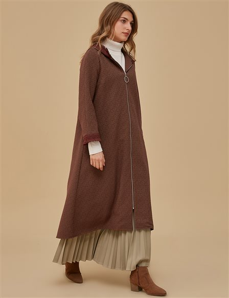 KYR Coat With Hood A9 85002 Khaki