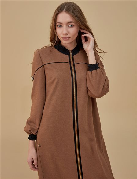 Strappy Overcoat A9 25069 Camel