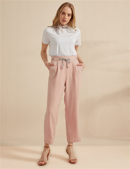 KYR High Waist Pants B20 79003 Powder