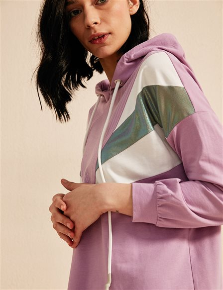 KYR Sweatshirt With Hood B20 81322 Lilac
