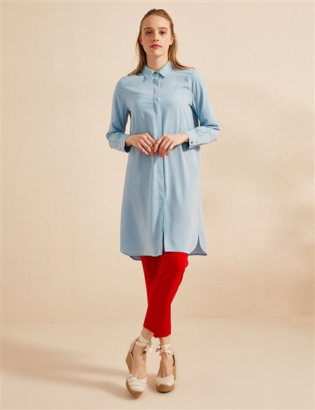 Basic Tunic SZ 21506 Blue
