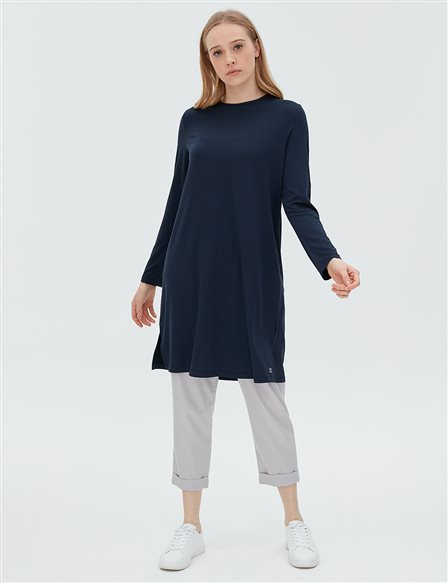 Basic Blouse SZ 10506 Navy