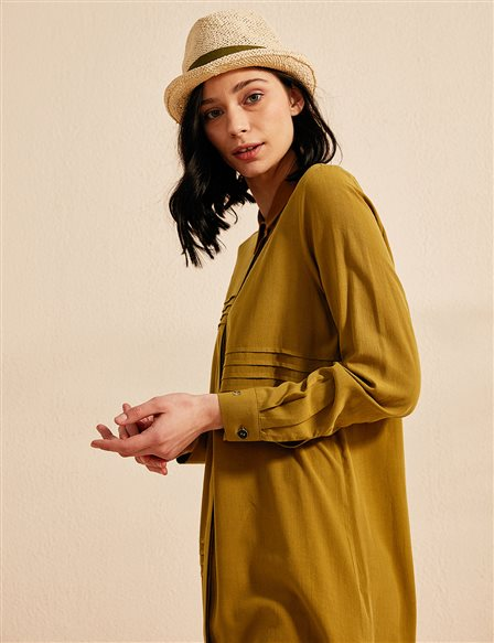 KYR Long Tunic B20 81015 Olive