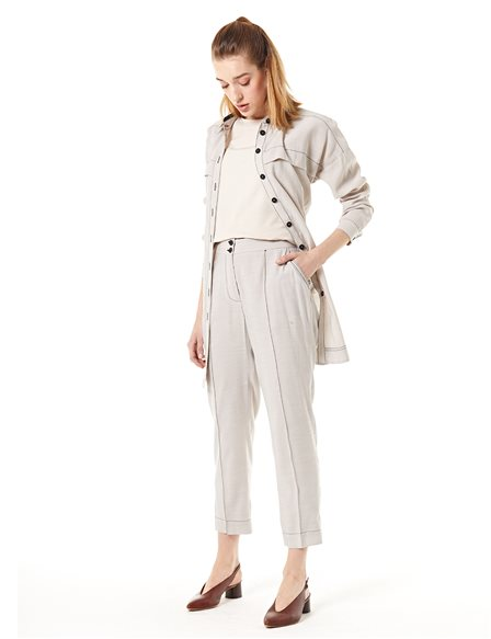 KYR Pants With Double Button Stone B20 79021