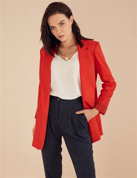 Blazer Jacket B20 13046 Red