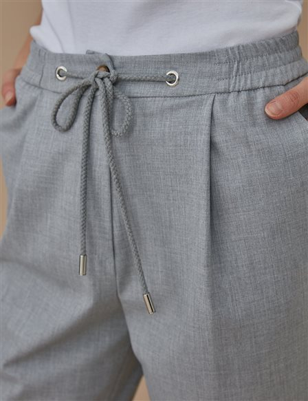 Carrot Pants B20 19170 Grey