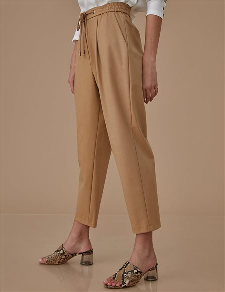 Carrot Pants B20 19170 Beige