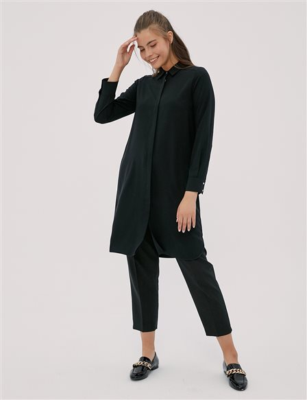 Basic Tunic Black SZ 21506