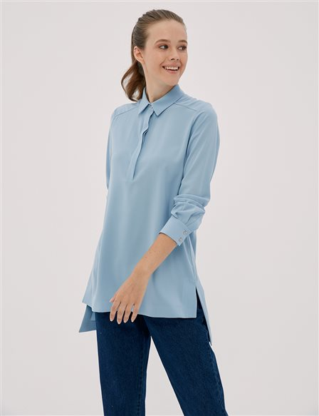 Basic Tunic Blue SZ 21500