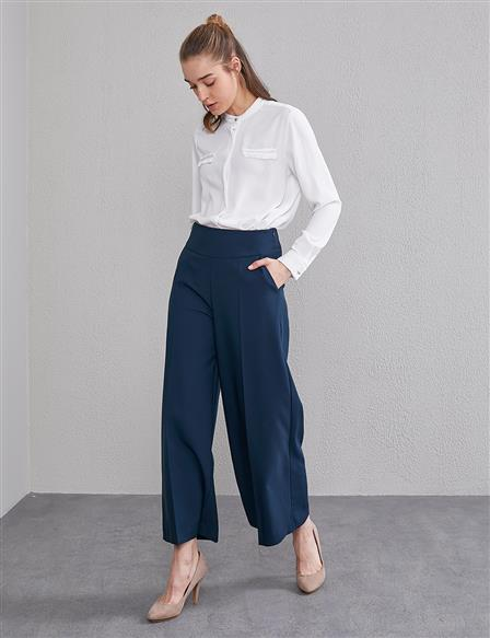 KYR Wide Leg Pants with Pockets A20 79560