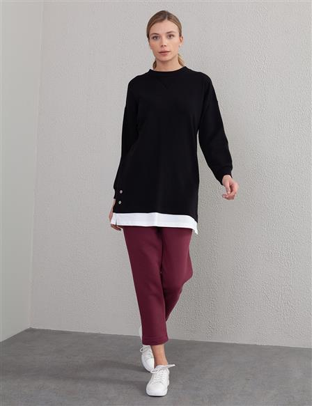 Casual Fit Sweatshirt A20 31014 Black
