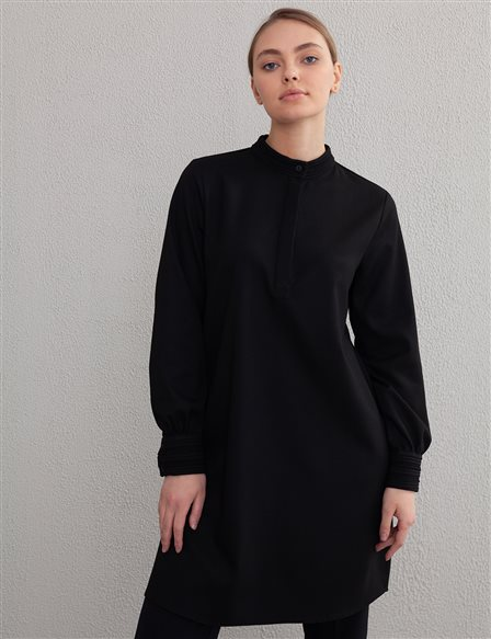 Judge Collar Tunic A20 21315 Black