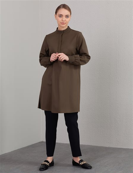 Judge Collar Tunic A20 21315 Khaki