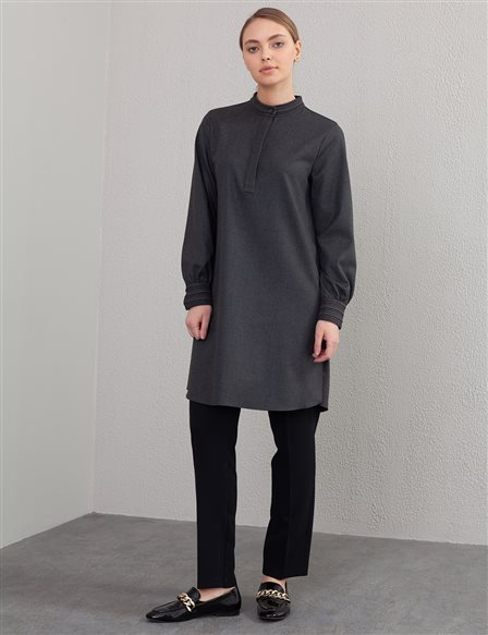 Judge Collar Tunic A20 21315 Smoked