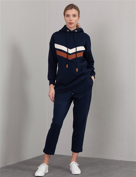 Casual Fit Pants A20 19240 Navy
