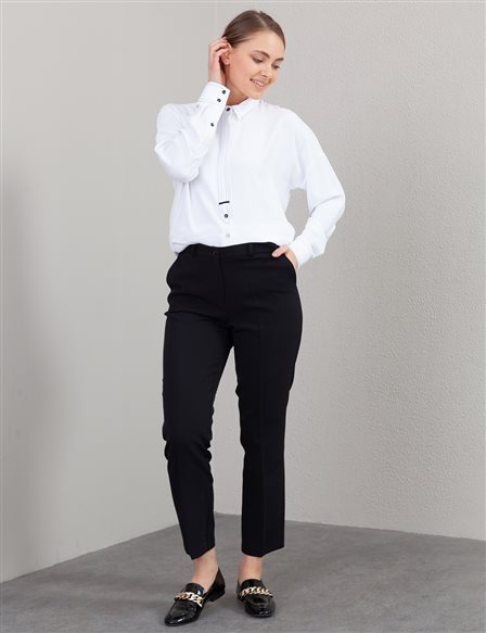 Classic Fabric Pants B21 19032 Black