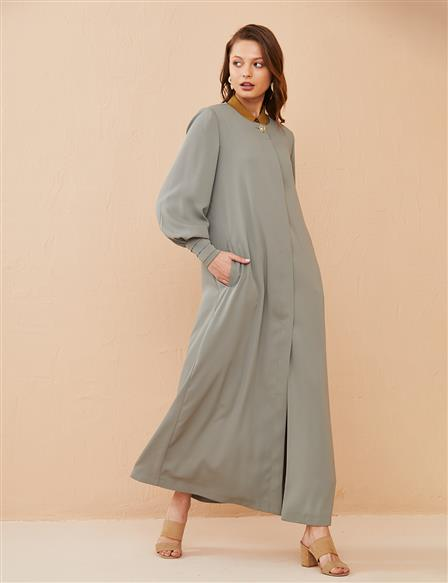 Draped Wear & Go Long B21 25025 Water Green