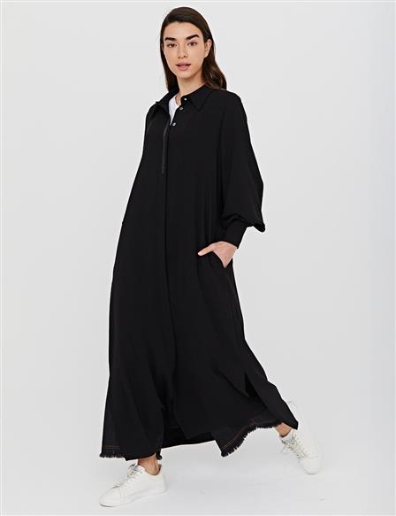 Hidden Pav Balloon Sleeve Wear & Go B21 21282 Black