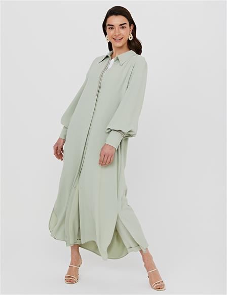Hidden Pav Balloon Sleeve Wear & Go B21 21282 Water Green