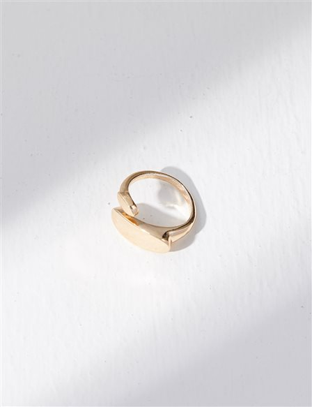 Adjustable Ring B21 YZK02 Gold