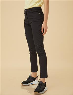 Skinny Denim Pants B9-19105 Black