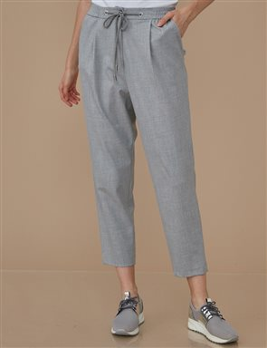 Elastic Pants A9 19058 Grey