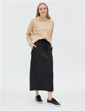 Skirt With Pocket B20 12011 Black