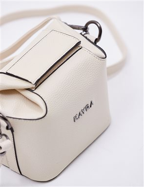 Mini Hand Bag B20 CNT34 Ecru