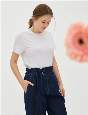 Skinny Leg Denim Pants Navy B20 19020