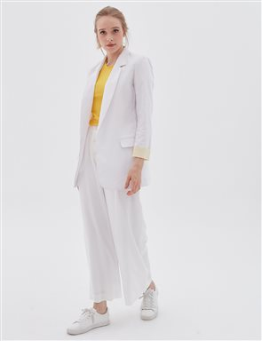 Blazer Jacket B20 13046 White